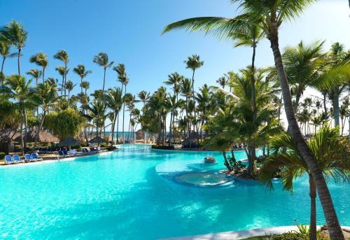 Бассейн в Meliá Caribe Beach Resort-All Inclusive или поблизости