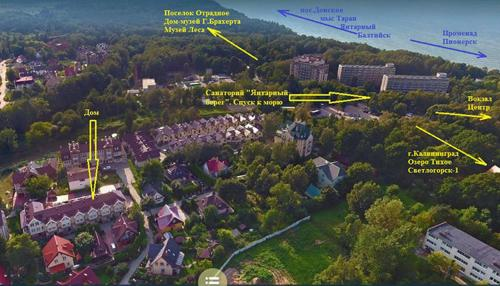 A bird's-eye view of From Home to Home B&B