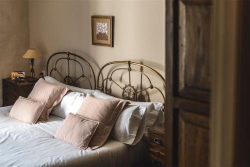 Cama o camas de una habitación en Hotel Zubieta