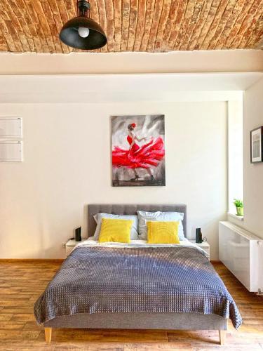 Letto o letti in una camera di Apartment John Dee