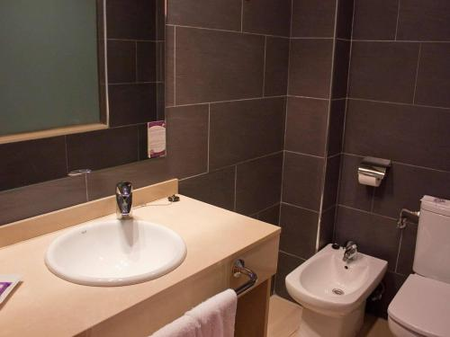 Un baño de Hotel Servigroup Papa Luna