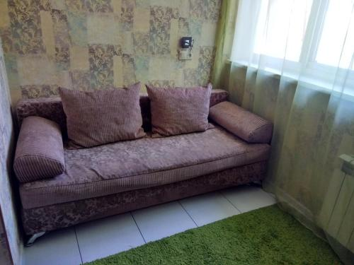 Гостиная зона в Apartments Landyshevaya 28