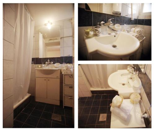 A bathroom at Old City