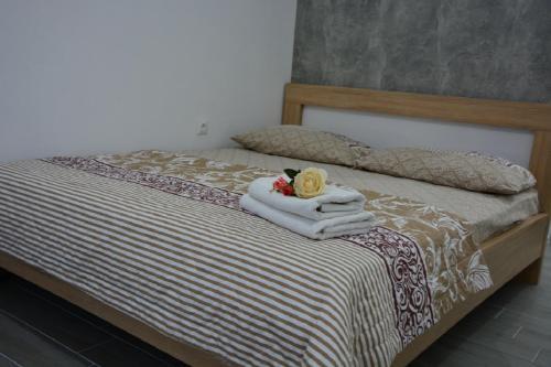 Ein Bett oder Betten in einem Zimmer der Unterkunft Hostel Center