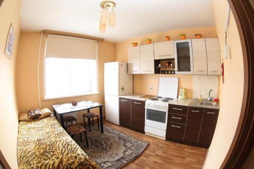 Кухня или мини-кухня в Apartment Andrey