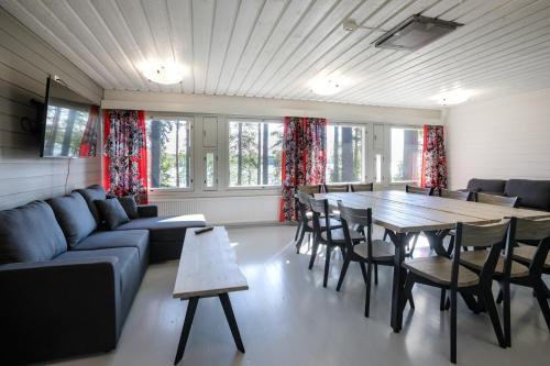 Majoituspaikan Summer Hotel Alkio / Tähtelä baari tai lounge-tila