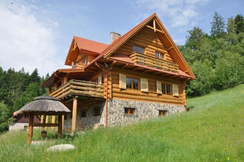Budynek, w którym mieści się dom wakacyjny