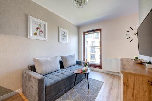 Część wypoczynkowa w obiekcie Live & Travel Apartments Number 1