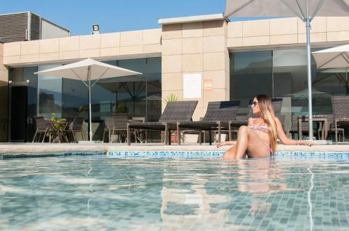 The swimming pool at or near Enjoy Antofagasta