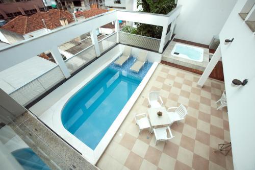 Uma vista da piscina em Dan Inn São José do Rio Preto ou nos arredores