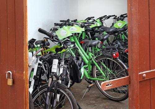 Radfahren an der Unterkunft Hotel Brenner oder in der Nähe