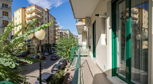 A balcony or terrace at Damè