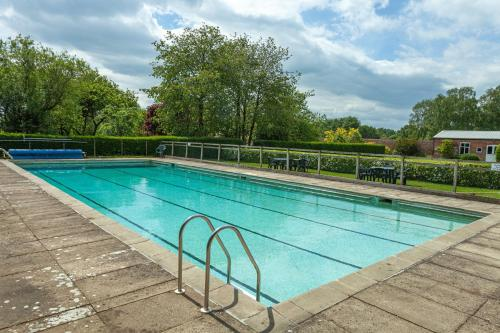 The swimming pool at or close to Prince Rupert House