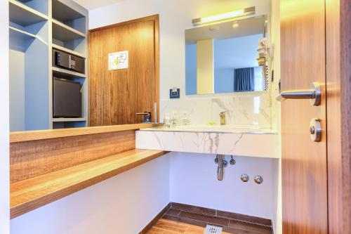A bathroom at Bel Residence