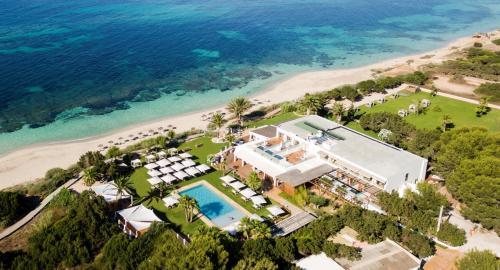 Vista aerea di Gecko Hotel & Beach Club