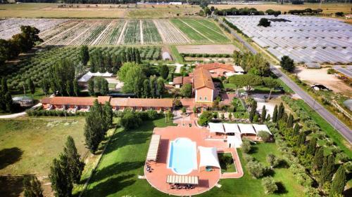 A bird's-eye view of Il Casale Corte Rossa