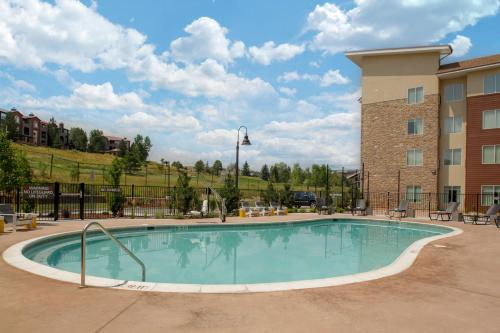 The swimming pool at or close to Residence Inn by Marriott Boulder Broomfield/Interlocken