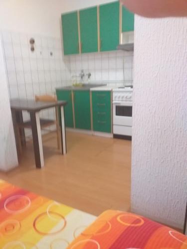 Kuhinja ili čajna kuhinja u objektu Hostel Corner 021