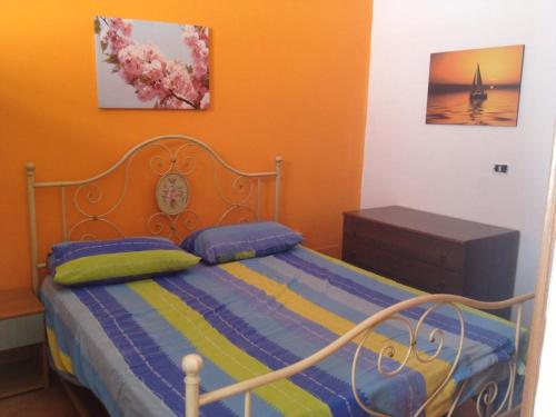 A bed or beds in a room at lampedusa mareblu sei