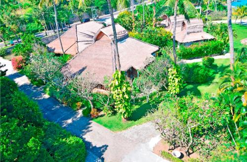 A bird's-eye view of Pasific Beach Cottages