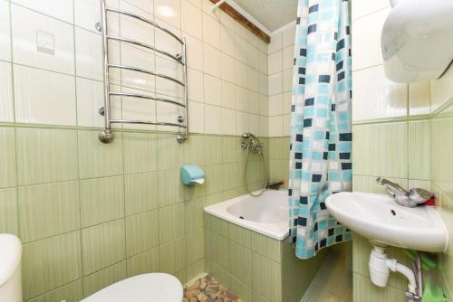 A bathroom at Ramus poilsis Karklėje