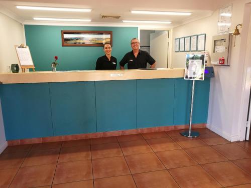 The lobby or reception area at Kalbarri Edge Resort