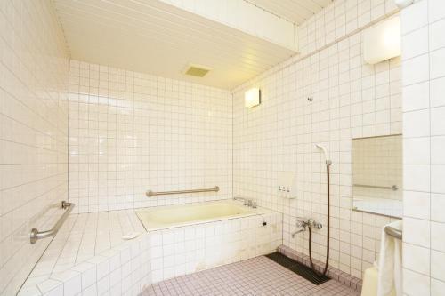 A bathroom at Fukuoka Toei Hotel