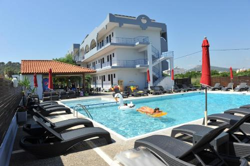 The swimming pool at or near Maritime