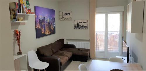 A seating area at Apartamento Barajas. Aeropuerto/Ifema