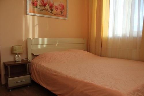 """Кровать или кровати в номере Гостевой дом """"Странник"""""""