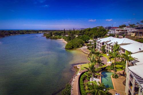 A bird's-eye view of Sunrise Cove Holiday Apartments