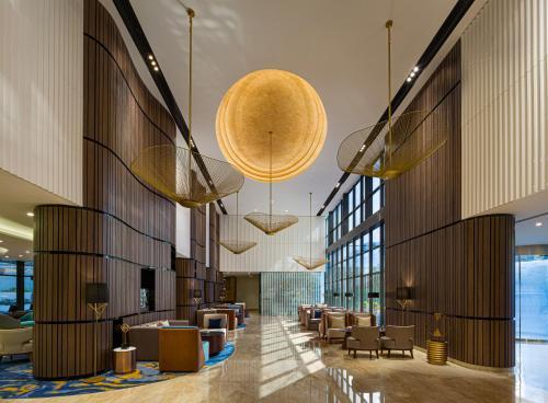 منطقة الاستقبال أو اللوبي في Millennium Place Dubai Marina