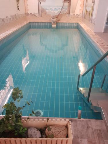 Der Swimmingpool an oder in der Nähe von PRIMA Hotel Harzromantik