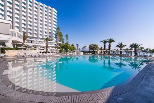 The swimming pool at or near GHotels Pallini Beach