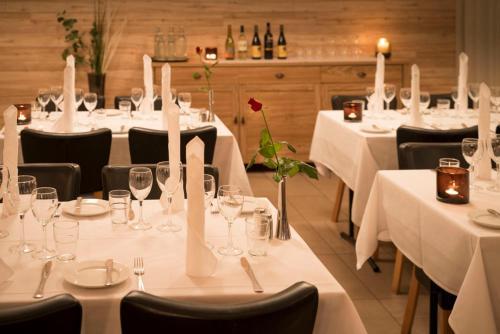 Een restaurant of ander eetgelegenheid bij Hotel Gullfoss