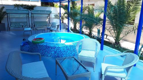 The swimming pool at or close to Maretel Hotel