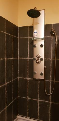 A bathroom at OCCITANAT