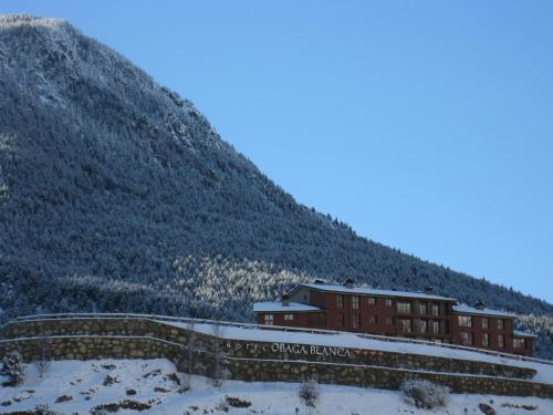 Obaga Blanca & Spa during the winter
