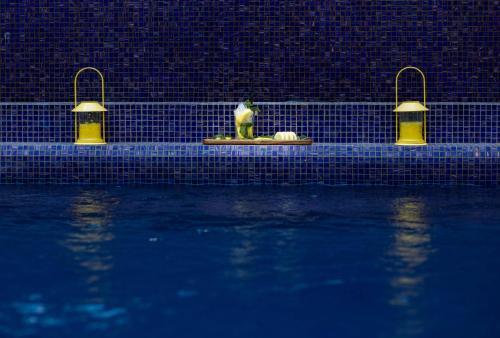 The swimming pool at or near Novotel Mohammedia