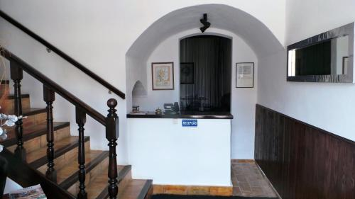 The lobby or reception area at The Boliqueime Inn