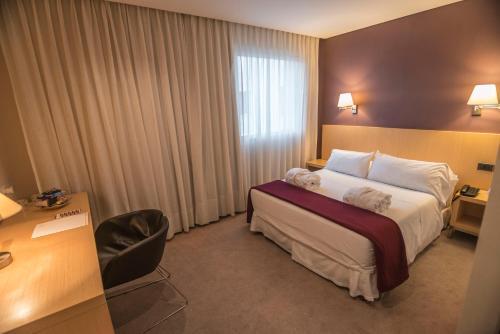 Cama o camas de una habitación en Salto Hotel y Casino