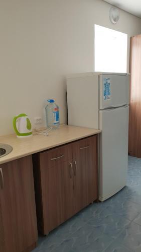 Кухня или мини-кухня в Мотель 888