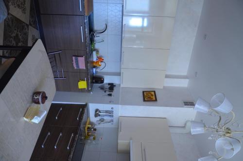 Ванная комната в Business Apartment on Chernaya reka