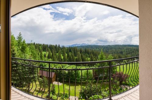 Balkon lub taras w obiekcie Jaśmin