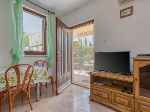 Телевизор и/или развлекательный центр в Apartments Folo