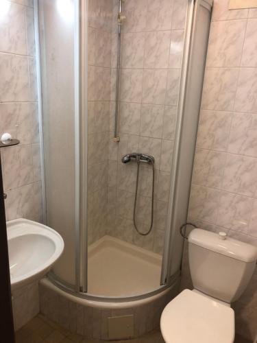 Kúpeľňa v ubytovaní Ubytovňa Army