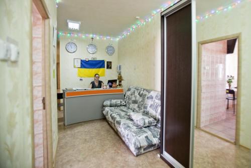 Зона вітальні в Хостел Freedom