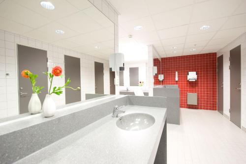 Salle de bains dans l'établissement Hotel Micro