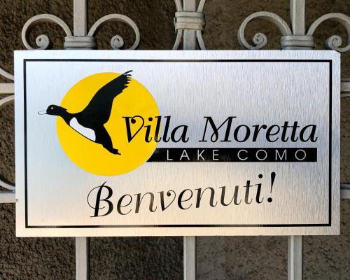 Het logo of bord voor het vakantiehuis