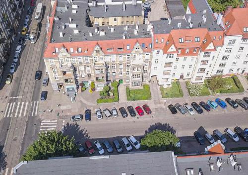 Widok z lotu ptaka na obiekt Tulip-Apartments - Jagiellońska 24 poddasze bez windy